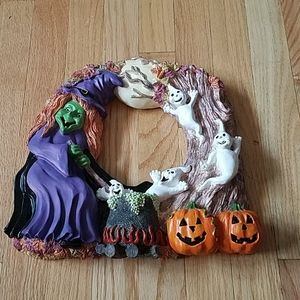 Other - Bewitching Resin Halloween Wreath